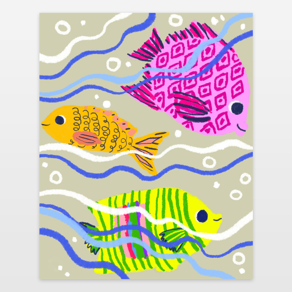 Swimming Fishes