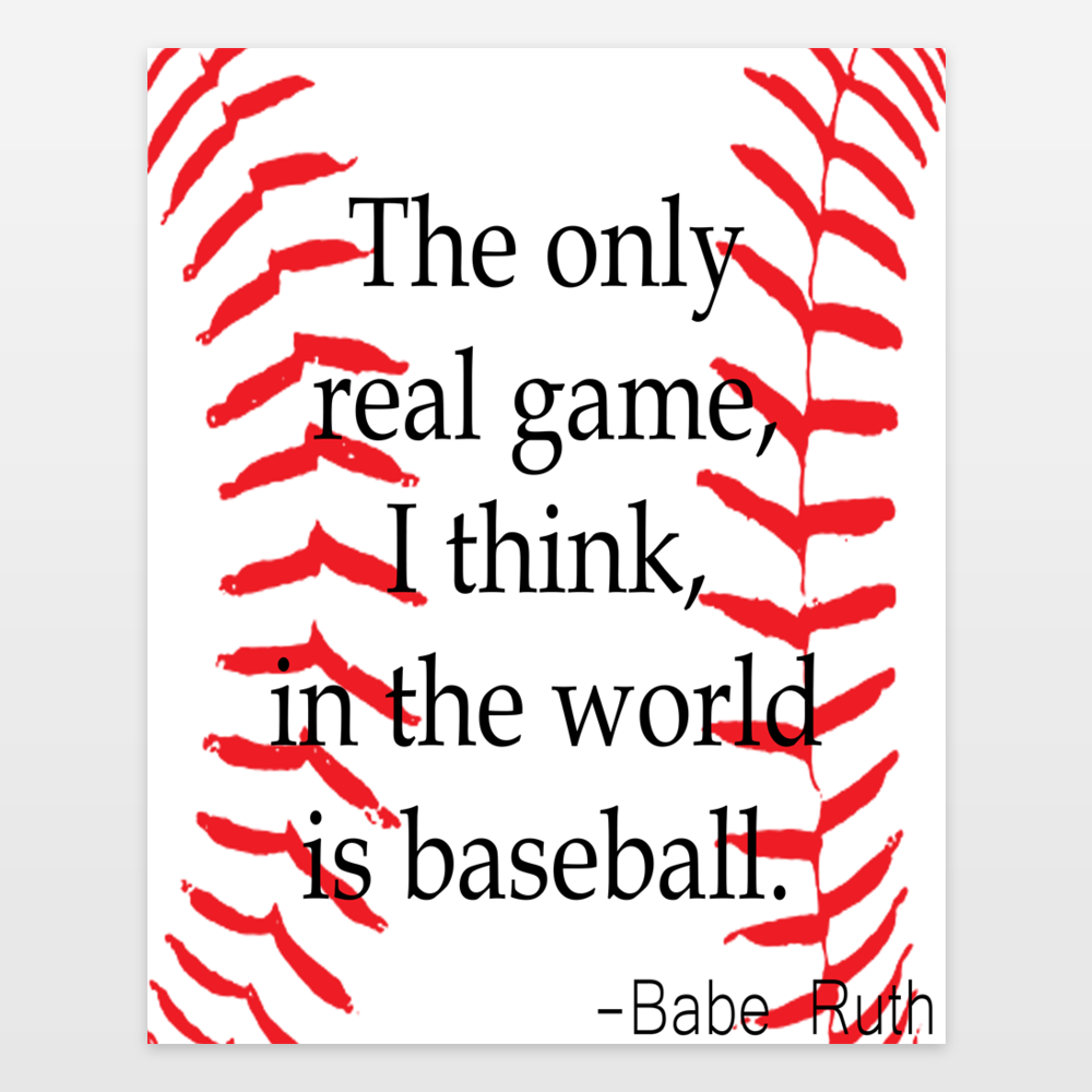 Babe Ruth - only real game