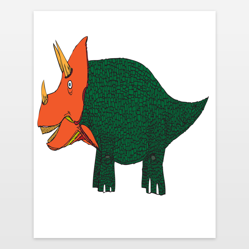 The Mighty Triceratops
