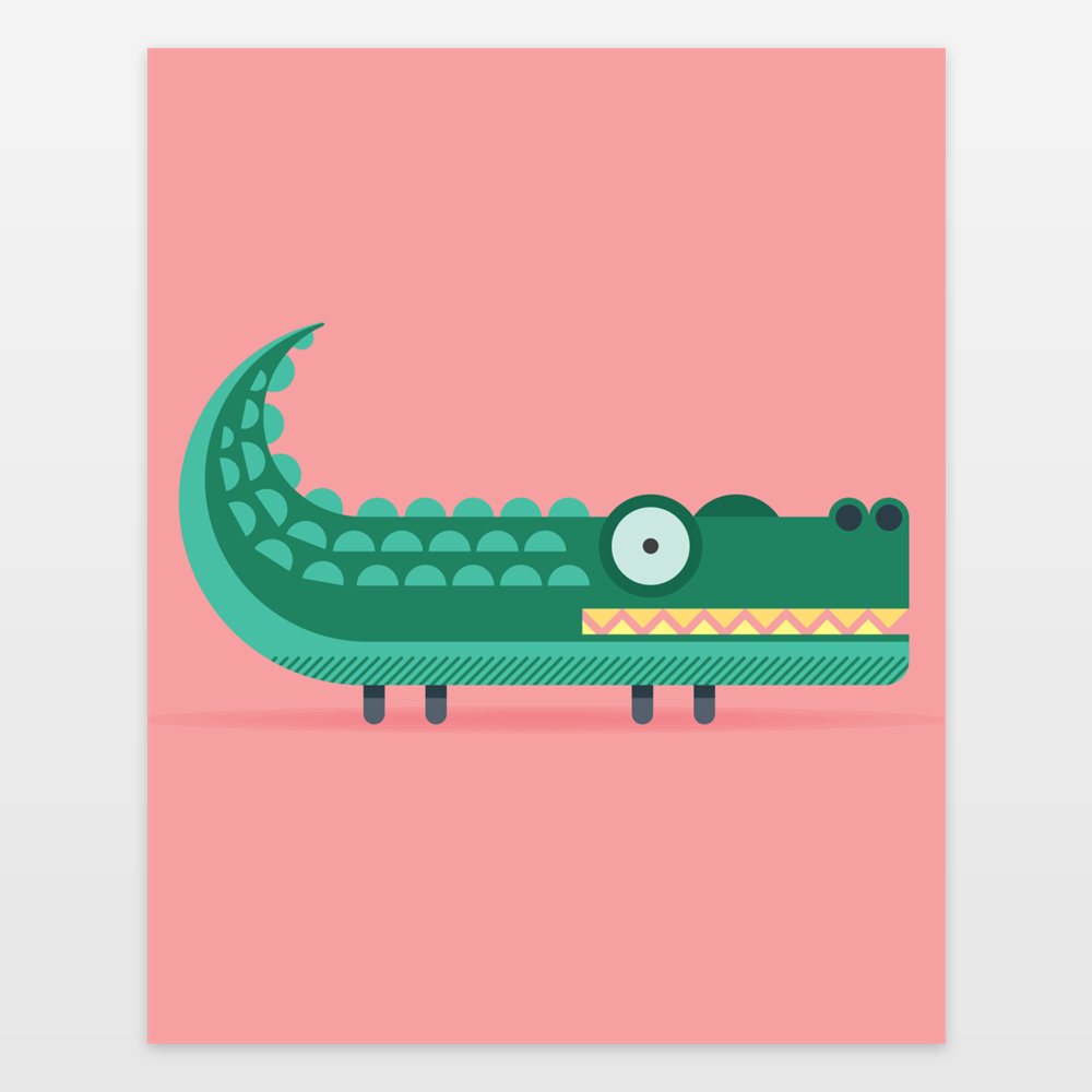An alligator called Rucco
