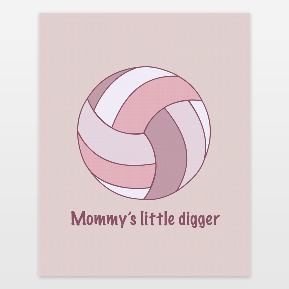 Mommys Little Digger
