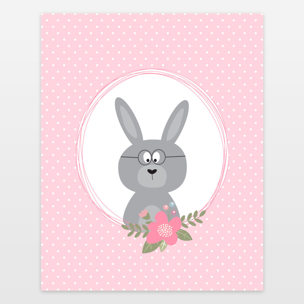 Bunny Rabbit in a Frame