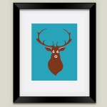 Deer Nursery Print by Fairytale Ink on BoomBoom Prints