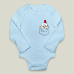 Chicken in a Pocket onesie