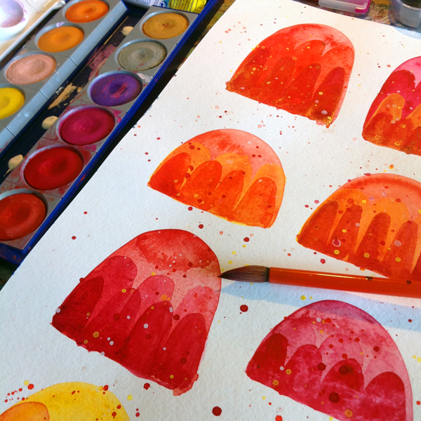 Nic Squirrell Jellies WIP