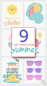 9 Art Prints for Summer from BoomBoom Prints