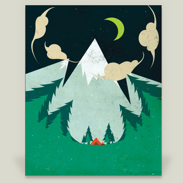 """A Perfect Night"" by Alex Bowen, BoomBoom Prints"