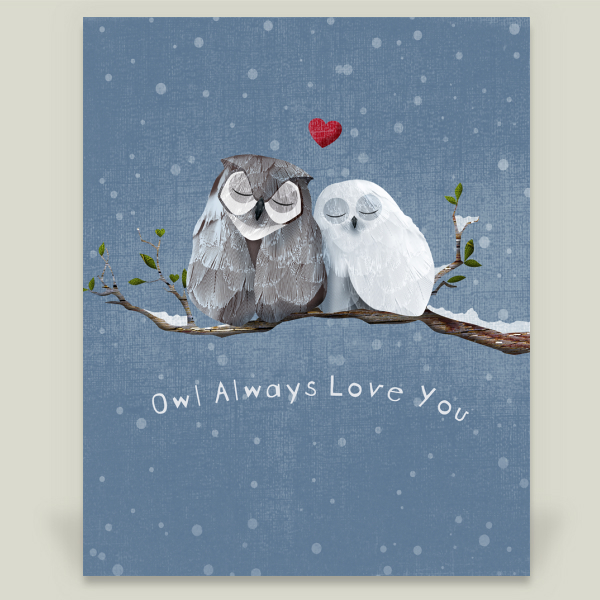 """Owl Always Love You"" by Caramel Expressions, BoomBoom Prints"