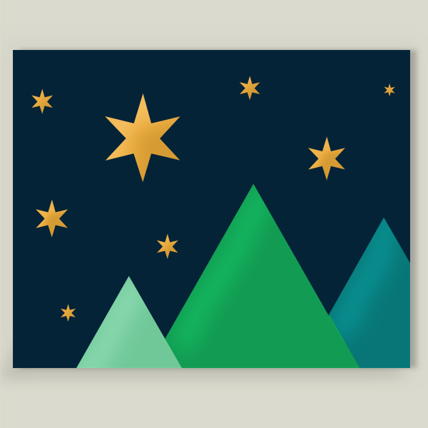 """Starlit"" by L5mith, BoomBoom Prints"