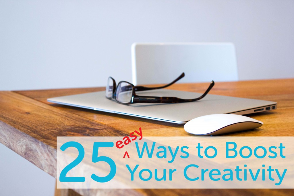 Ways to boost creativity