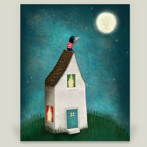 """Night Sky"" by Heather Scott, BoomBoom Prints"