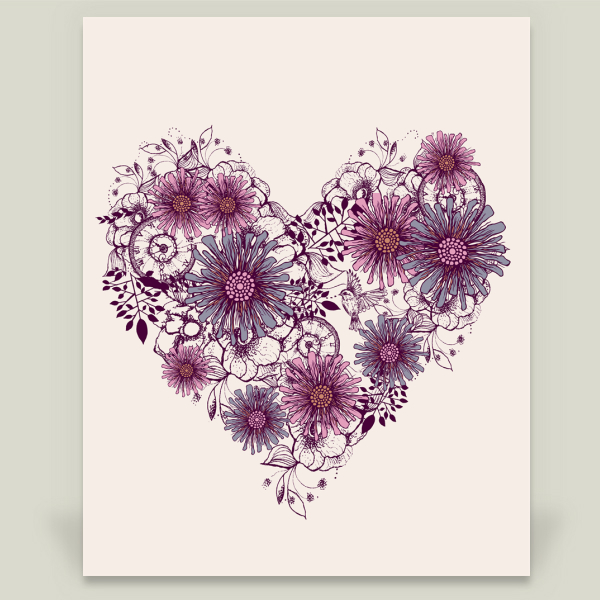 """Love Grows"" by Rosebudstudio, BoomBoom Prints"