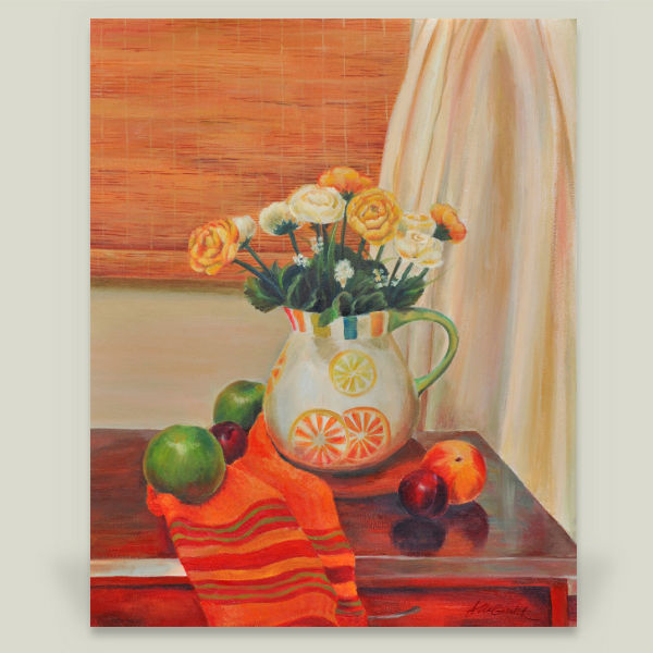 """Still Life"" by Alla Gorelik, BoomBoom Prints"