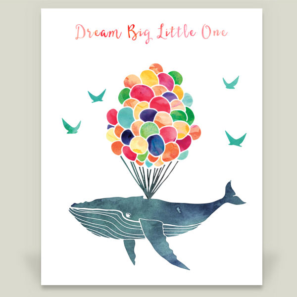 """Dream Big Little One"" by Knotted Design, BoomBoom Prints"