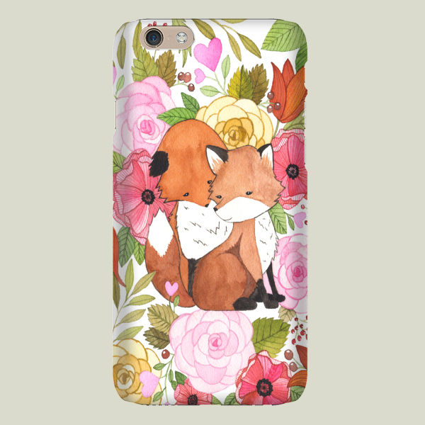 """Fox Love"" iPhone Case by BBP Artist Fercute"
