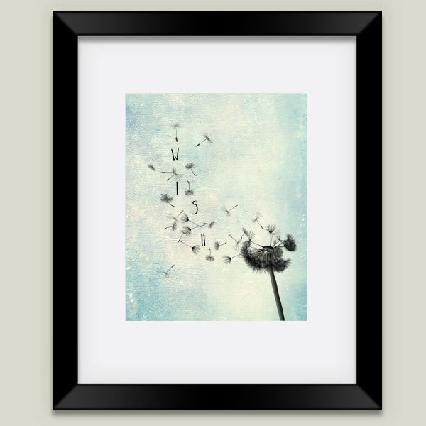 """Wish"" Framed Art Print by BBP Artist Ally Coxon"