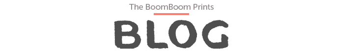 BoomBoom Prints Blog
