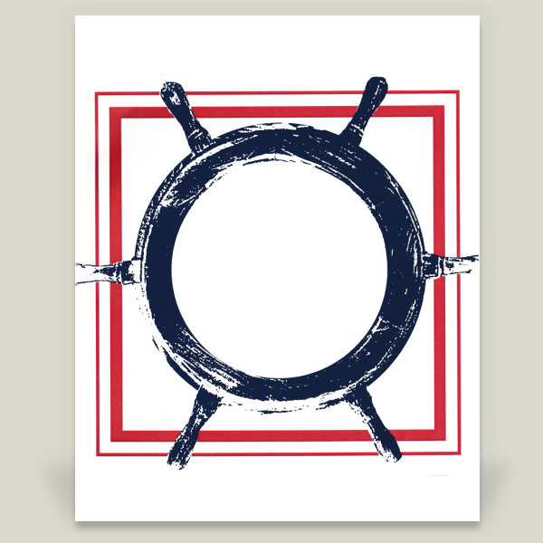 """Wheel"" by Egle Sernaite, BoomBoom Prints"
