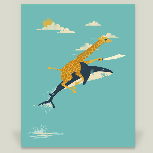 """Onward"" by Jay Fleck, BoomBoom Prints"