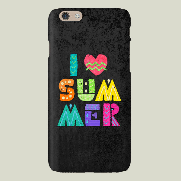 """I Love Summer"" by Noonday Design, BoomBoom Prints"