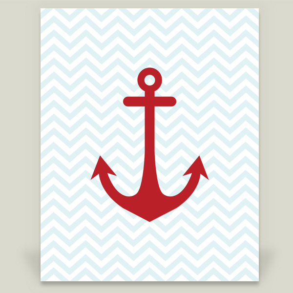 """Anchor"" by Slightly Sprightly, BoomBoom Prints"