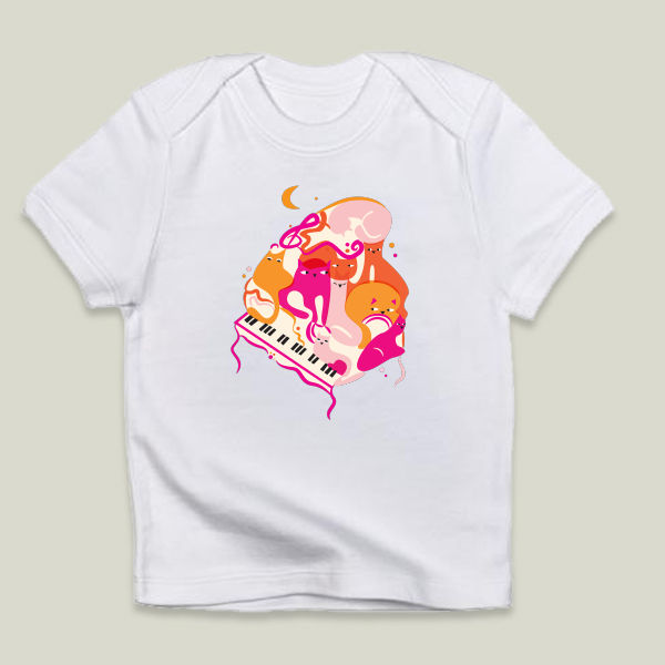 """Jazz Cats"" Infant T-Shirt by prouddaydreamer"