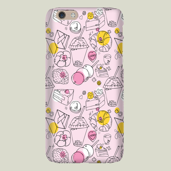 """Japanese Treats"" iPhone Case by prouddaydreamer"