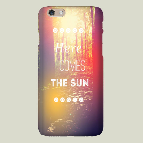 """Here Comes the Sun"" iPhone Case by OliviaJoyStClaire"