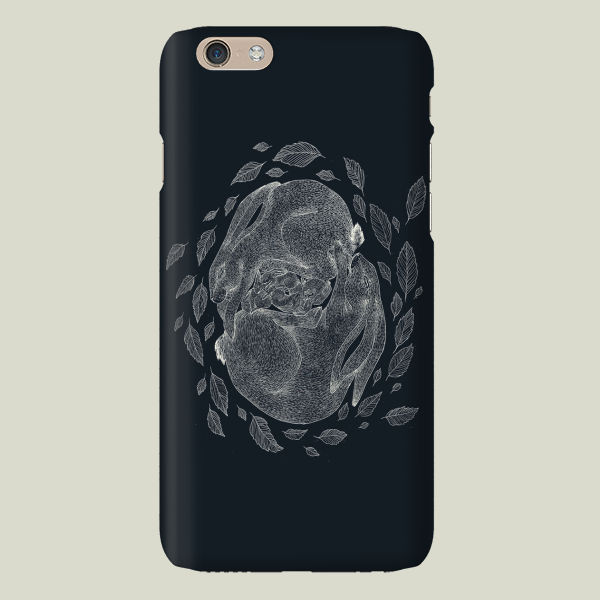 """Hare Family"" iPhone Case by BBP Artist Catherine Rowe"