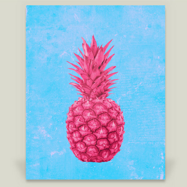 """Pineapple Love"" by Mikath, BoomBoom Prints"