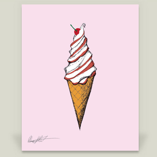 """Ice Cream Fun"" by Nuart Media Group, BoomBoom Prints"