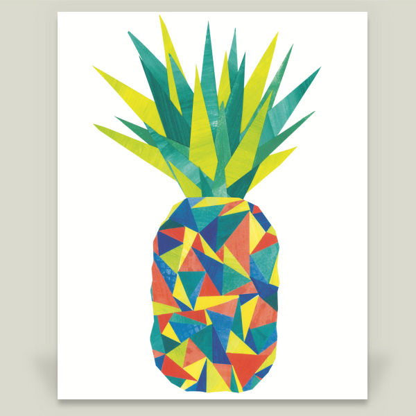 """Pineapple"" by Sarah Tamblyn Designs, BoomBoom Prints"