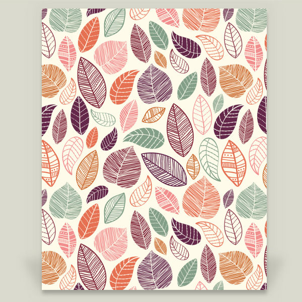 """Fall Leaves"" by Sugar and Bean, BoomBoom Prints"
