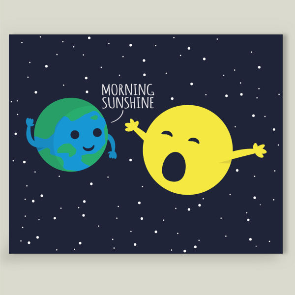 """Morning Sunshine"" Art Print by BBP Artist Adam"