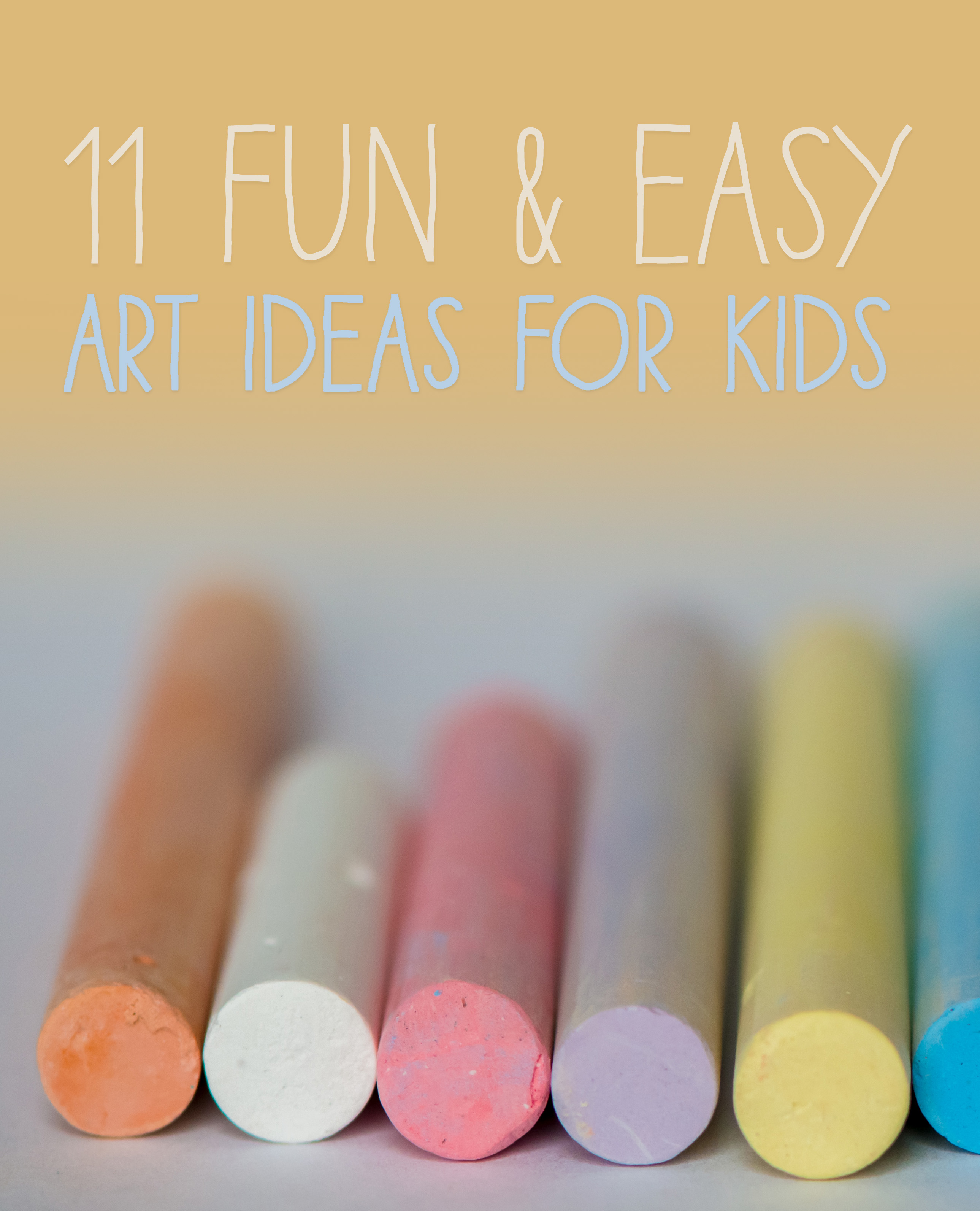 11 Easy Art Ideas to Try With Kids