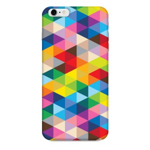 Geometric Triangle Cubes iPhone case by laurenmary on BoomBoomPrints
