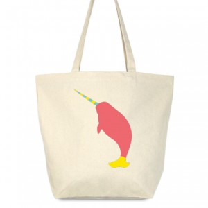Modern Narwhal II Tote Bag by laurenmary on BoomBoomPrints