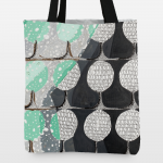 """In the Woods"" Tote bag by Emily Mercedes on BoomBoom Prints"