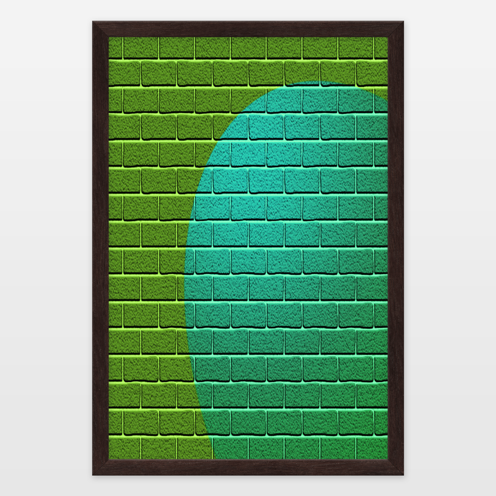 Unusual bricks 1 framed art print by passthacreations on for 10 minute table runner 30 minute tote bag