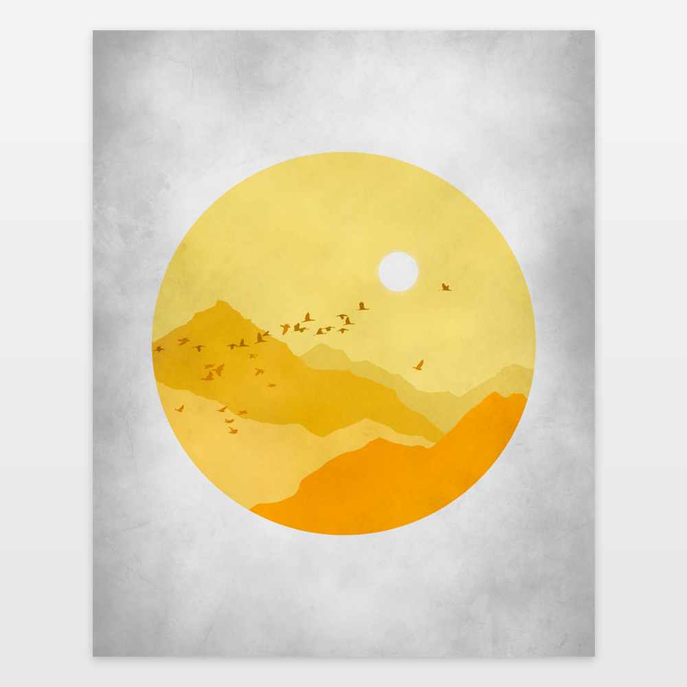 Sunny Day Art Print by evesand on BoomBoomPrints