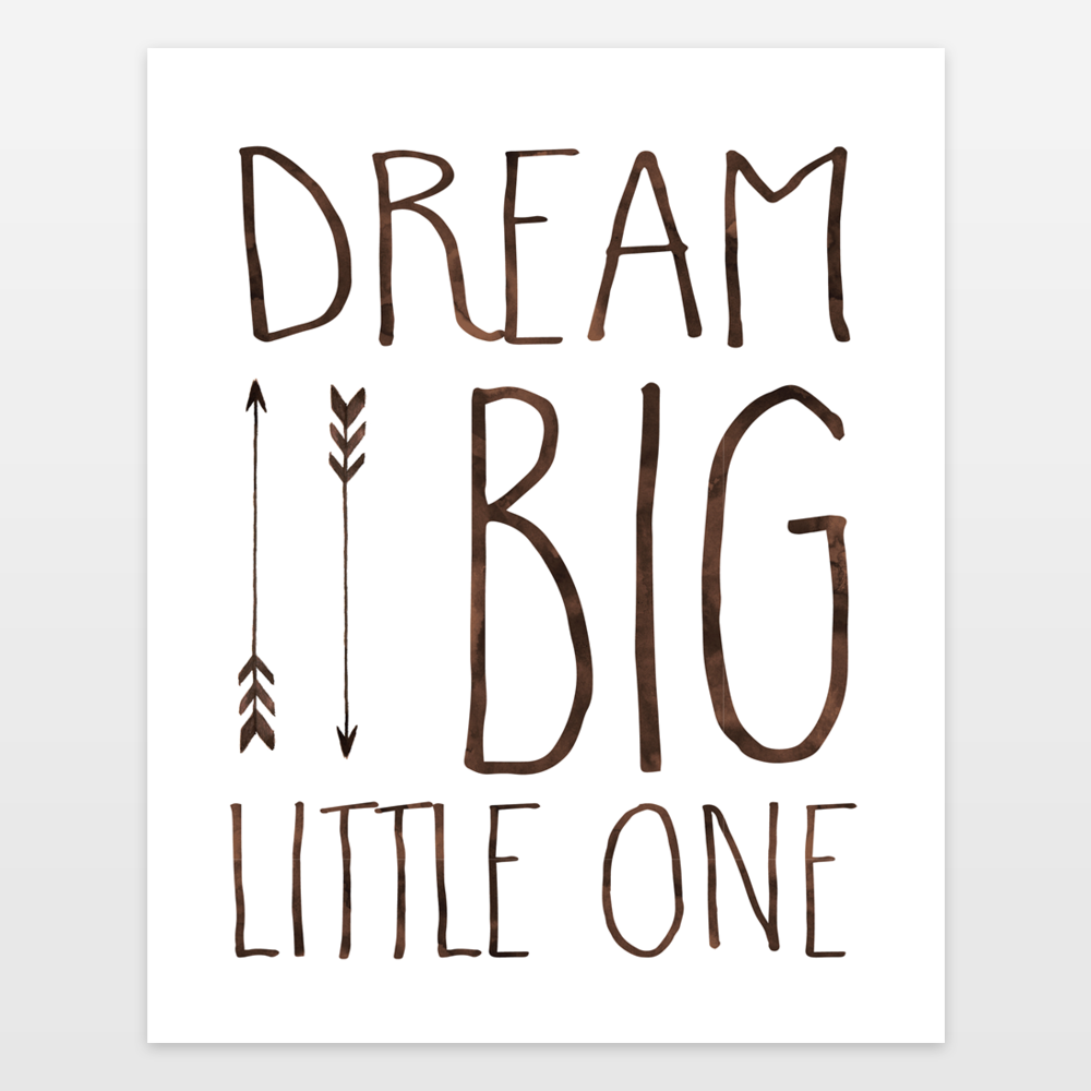 Dream Big Little One 2 Art Print By Zoomandboonecreations