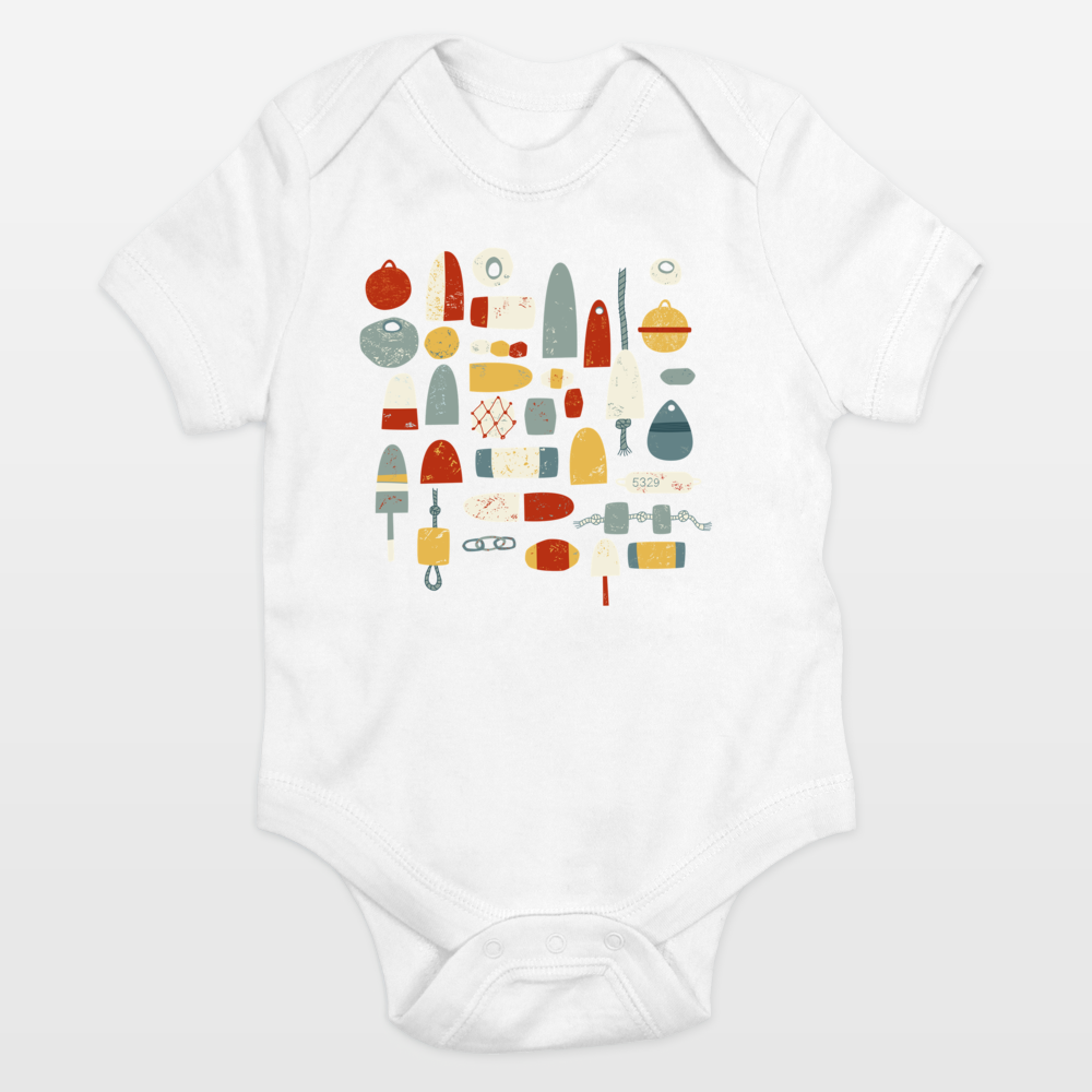 Oh Bouy Onesie by BoomBoom Prints Artist Nic Squirrell