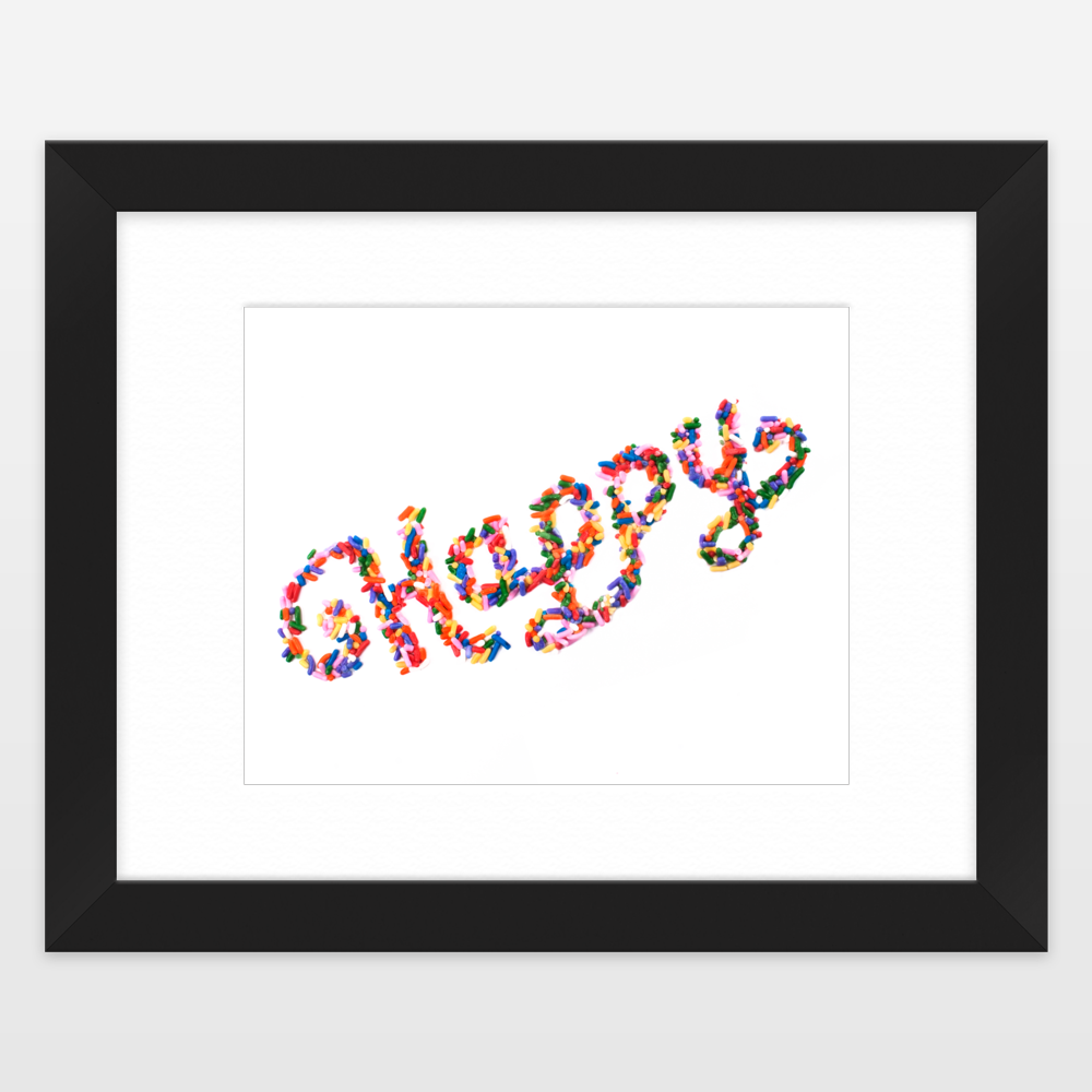 Framed nursery art prints for girls nursery
